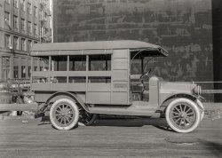 Bound for Belgium: 1921