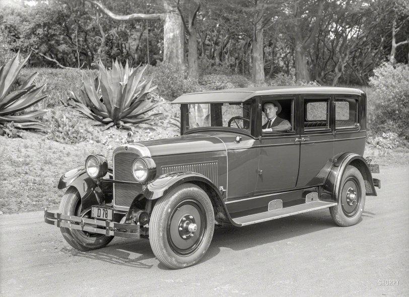 Cruising: 1925