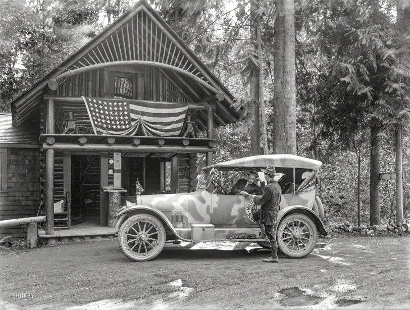 Camo Cabin: 1918