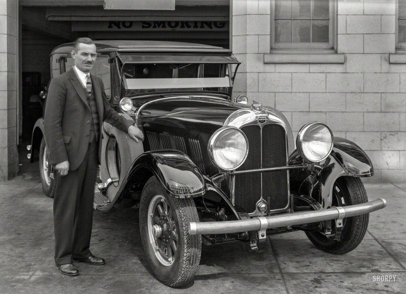 Auburn Garage: 1928