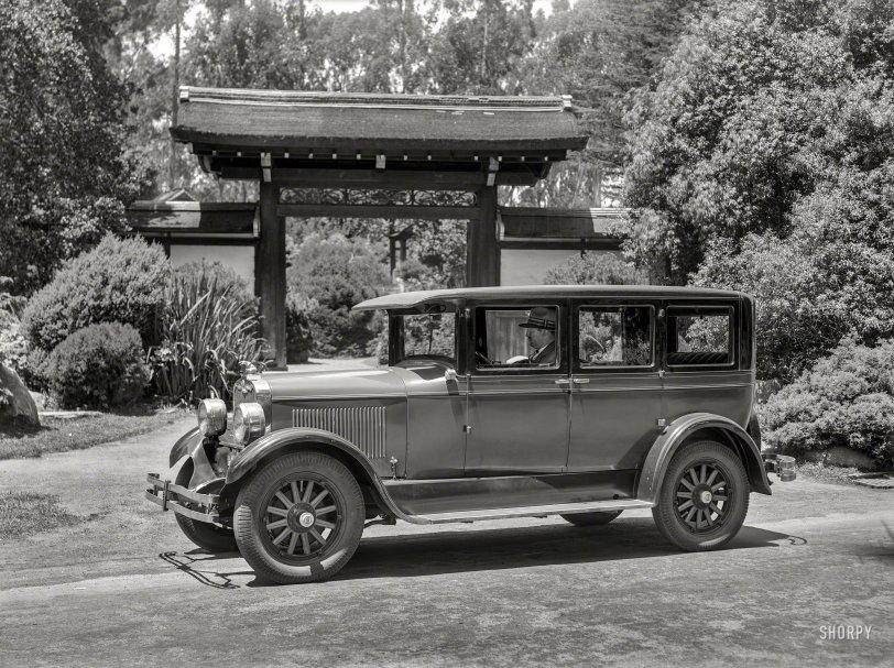 Peerless in the Park: 1927