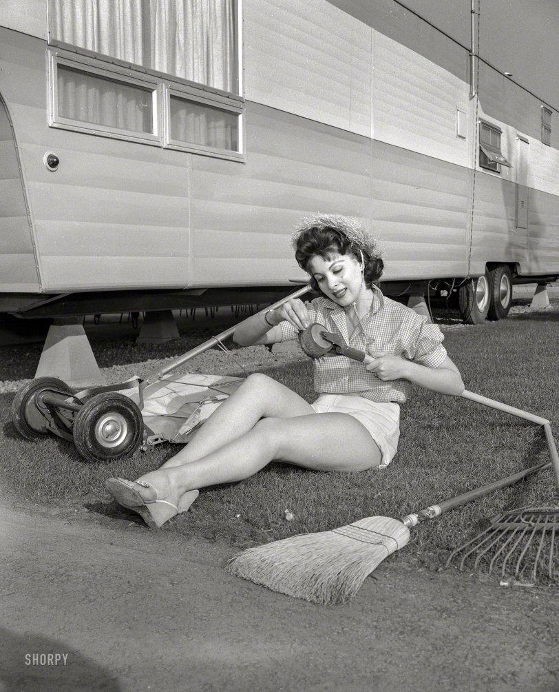 A Lawn, Alas: 1957