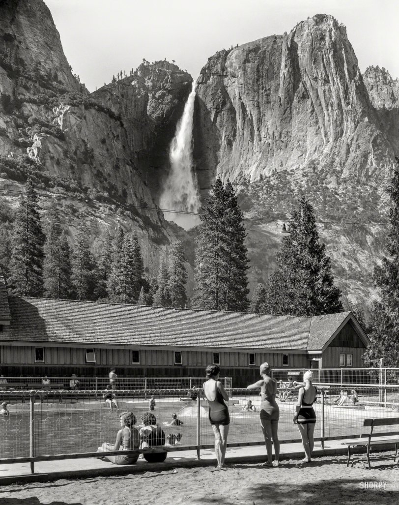 Yosemite Swimmers: 1940
