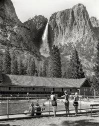 Yosemite Swimmers: 1940