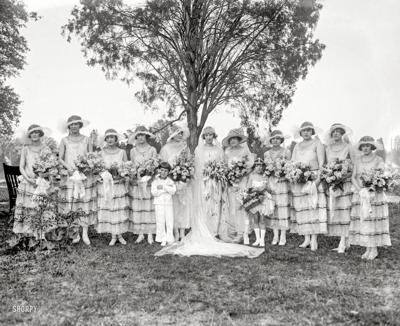 Here Come the Bridesmaids: 1924