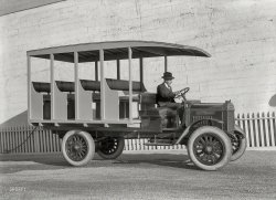 The Pewmobile: 1918