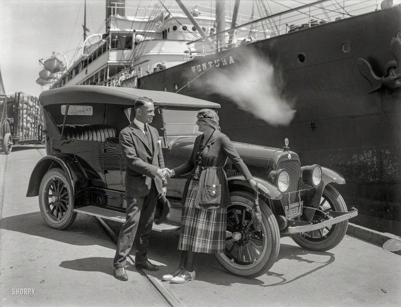Ahoy, Matey: 1921