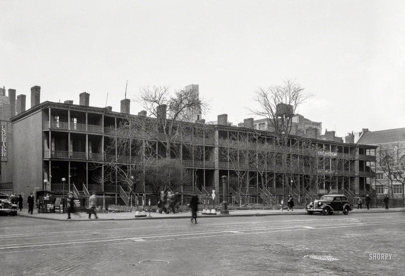 Rhinelander Row: 1936
