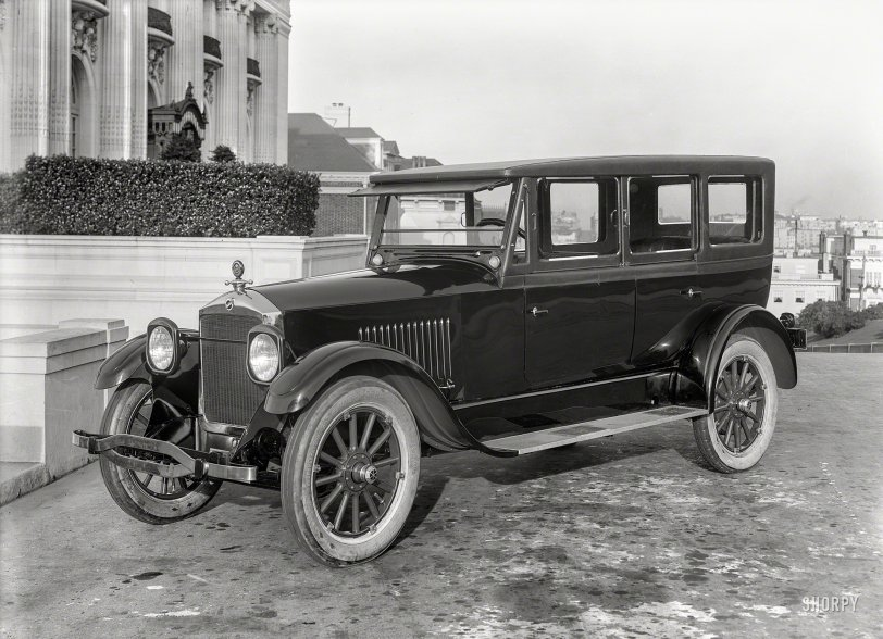 Formal Phaeton: 1921