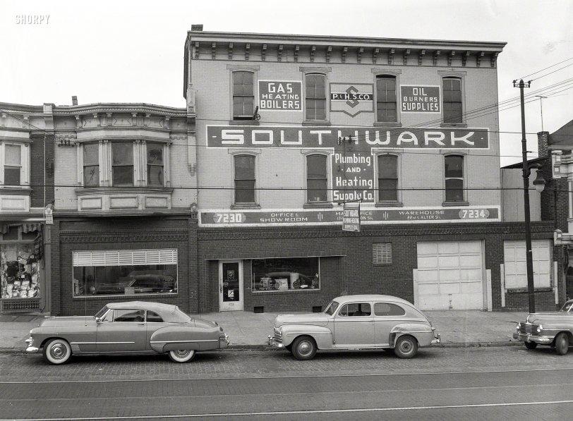 Southwark Plumbing: 1949