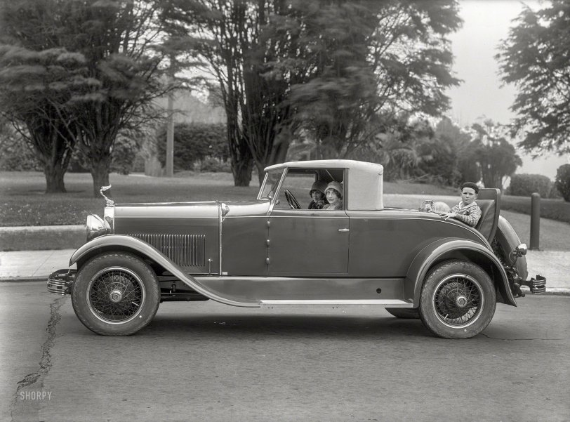 Rumble-Seat Rodent: 1928