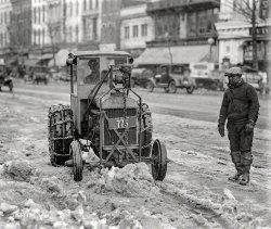 Snow Going: 1925