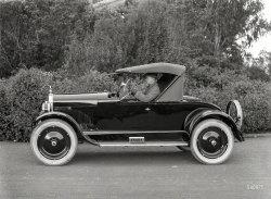 Rakish Roadster: 1922