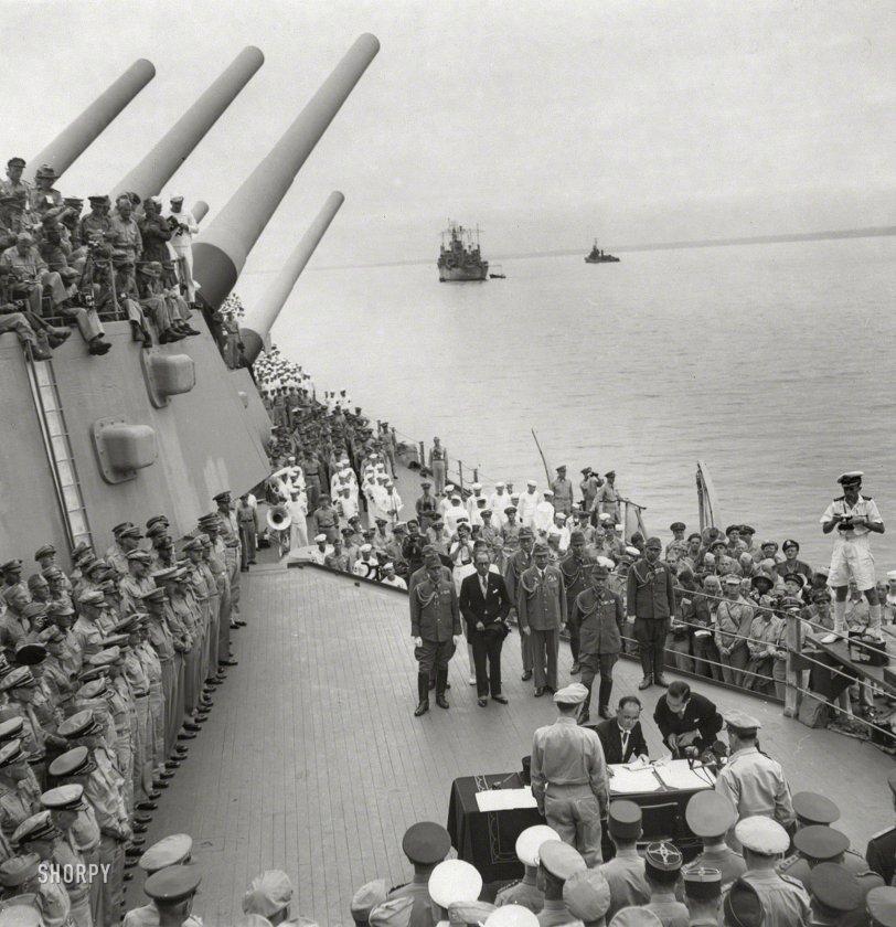 Japan Surrenders: 1945