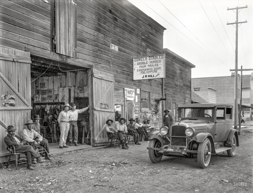 Covelo Stables: 1925