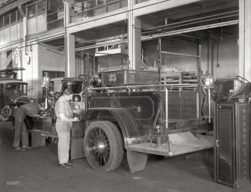 Bureau of Fire: 1919