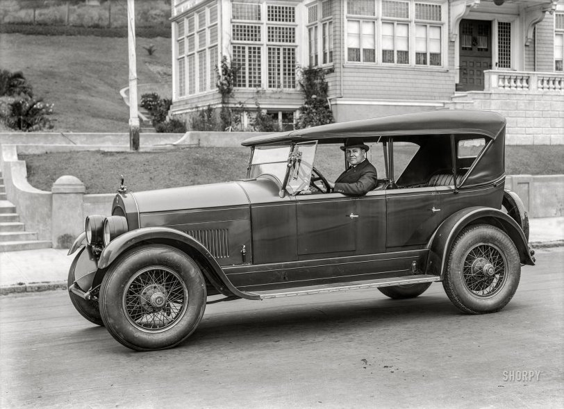 Rolling Cole: 1925