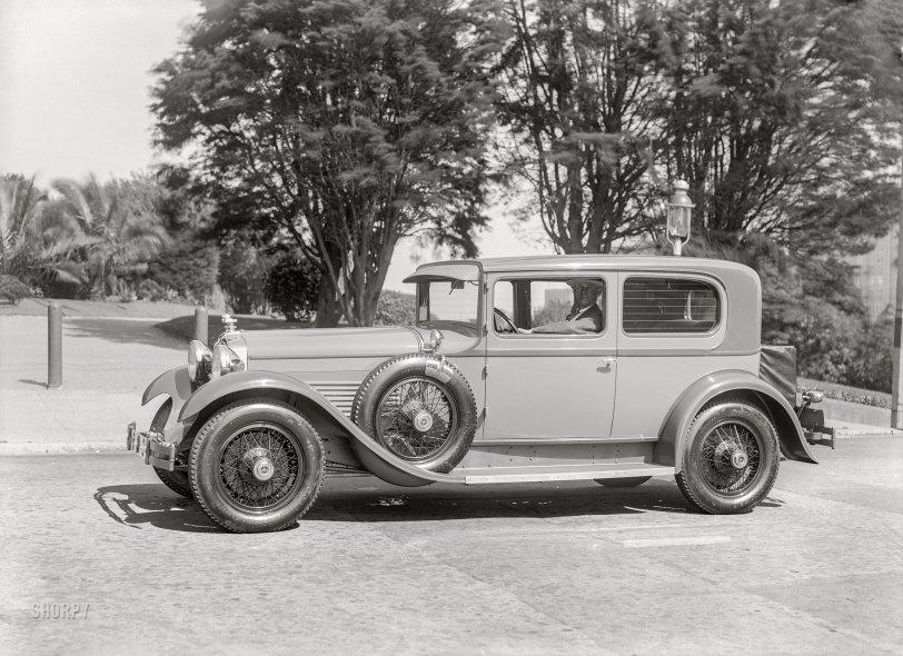 The Splendid Stutz: 1928