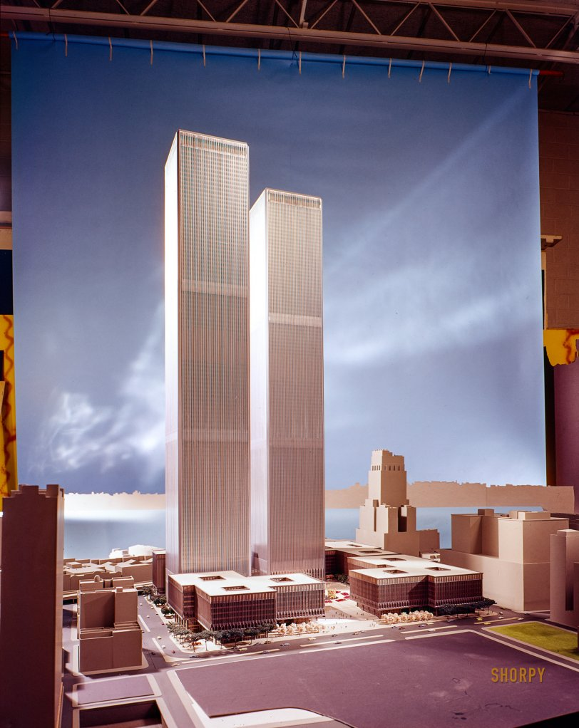 The Twin Towers: 1976