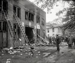 Garage Fire: 1925