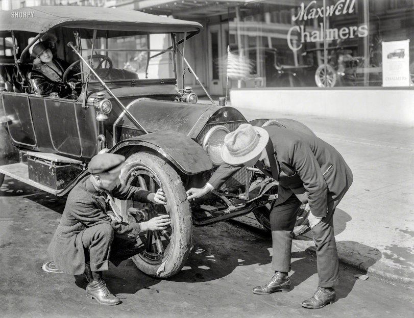 A Tattered Tire: 1922