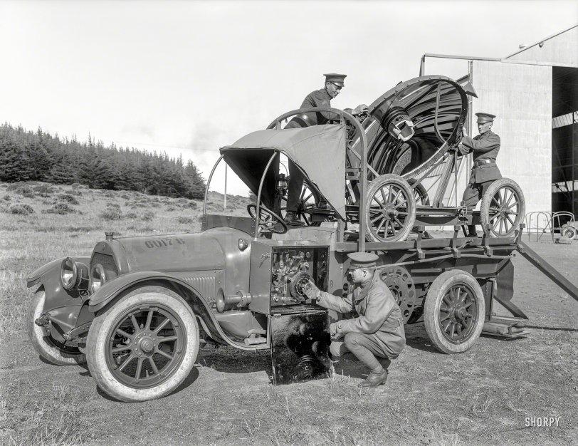 Army Cadillac: 1922