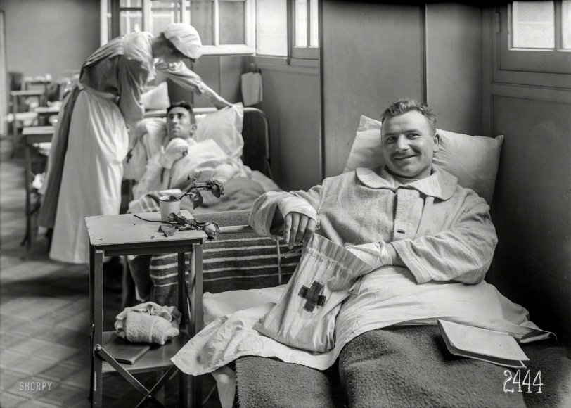 Resting Comfortably: 1918