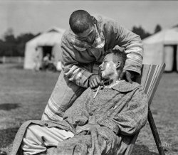 A Close Shave: 1918