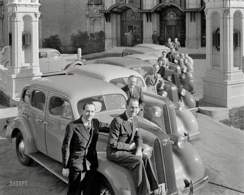 Pontiac Purveyors: 1936