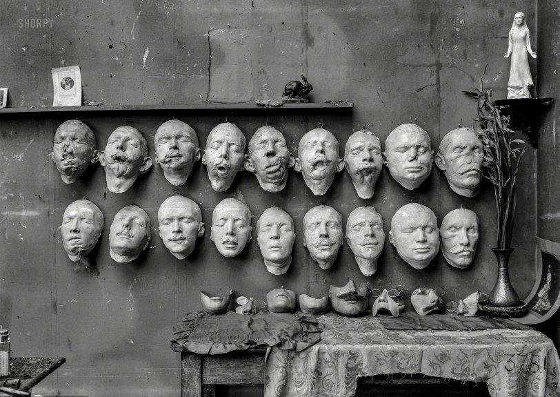 Masques de Guerre: 1918