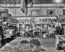 Daddy WAS a Fireman: 1928