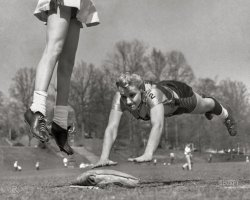 Ladies vs. Tomboys: 1955