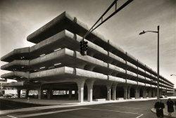 Brutalist Garage: 1963