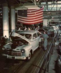 Cars & Stripes: 1946