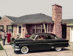 Chateau Crestline: 1954