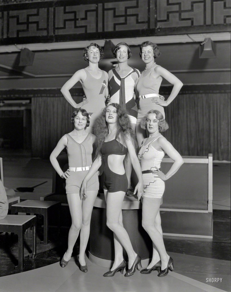 Goodyear Girls: 1932