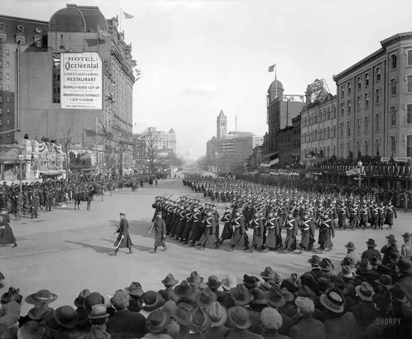 Inaugural Parade: 1917