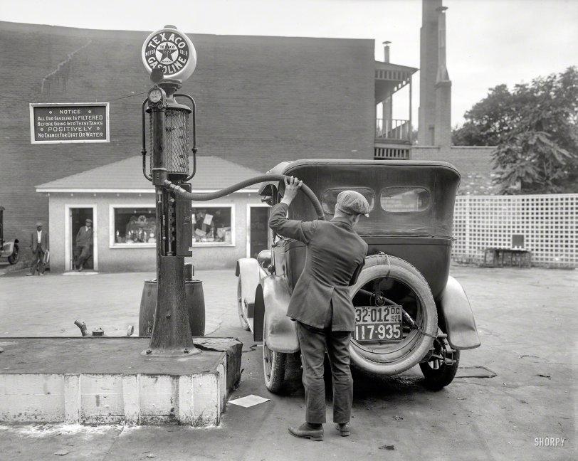 Filtered Gasoline: 1920