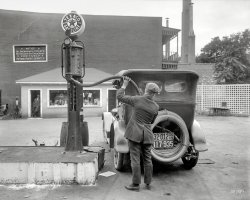 Filtered Gasoline: 1920