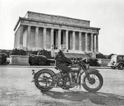 Sally's Harley: 1937