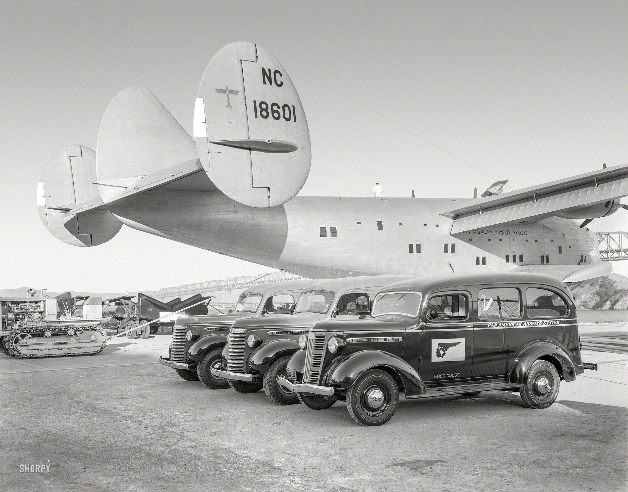 Shorpy Historic Picture Archive Honolulu Clipper 1939