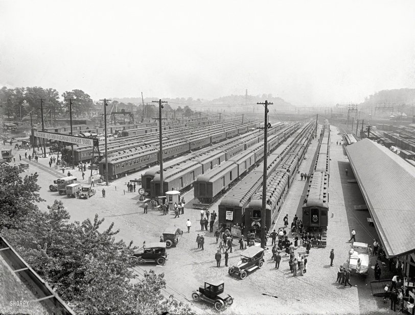 Eckington Yards: 1923