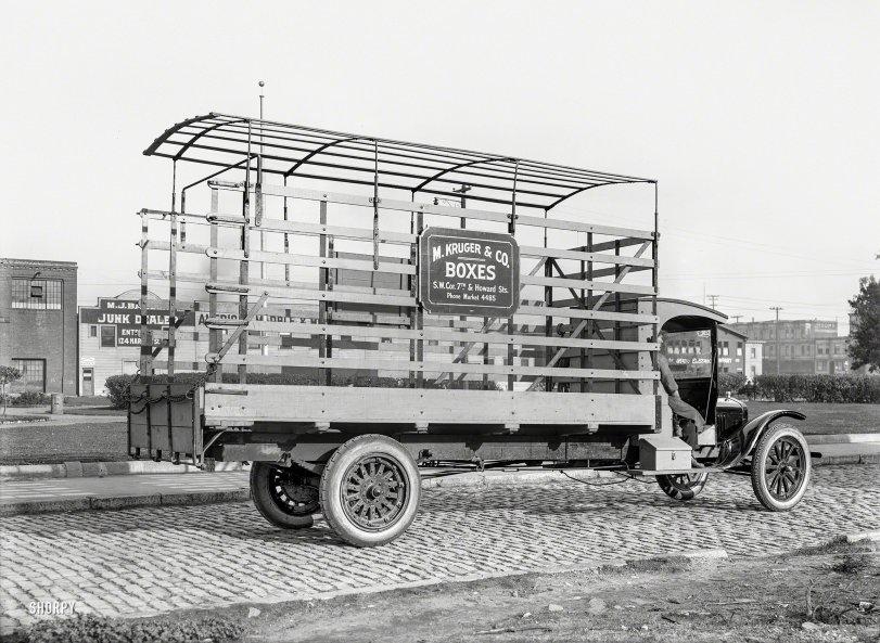 Kruger Boxes: 1919