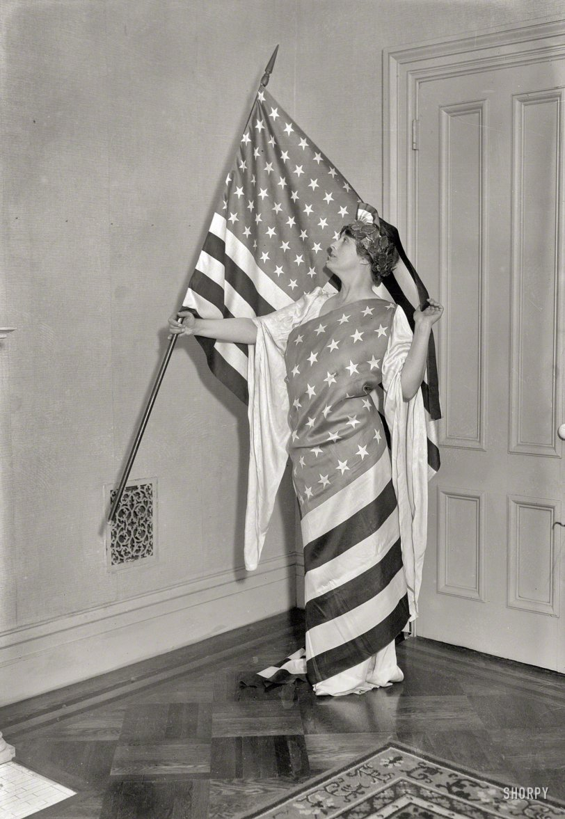 Wrapped in the Flag: 1917