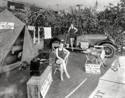 Camp Cuddles: 1925