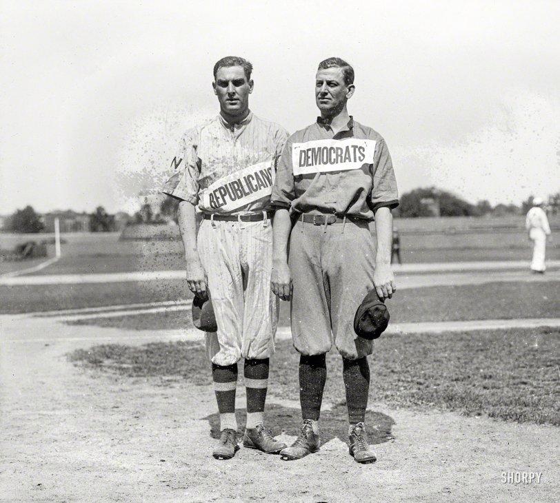 Political Baseball: 1918