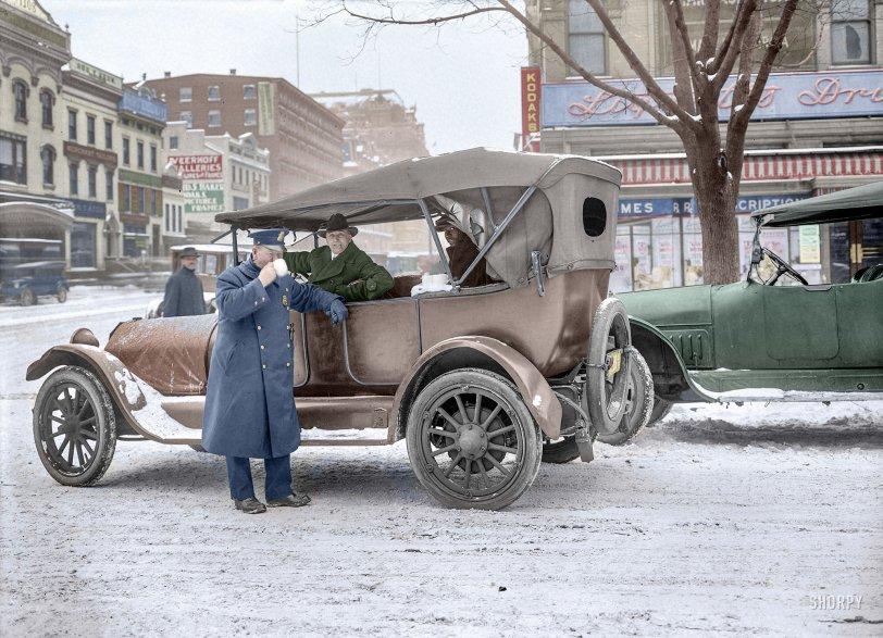Mug Shot (Colorized): 1919