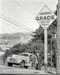 Upward Oldsmobile: 1940