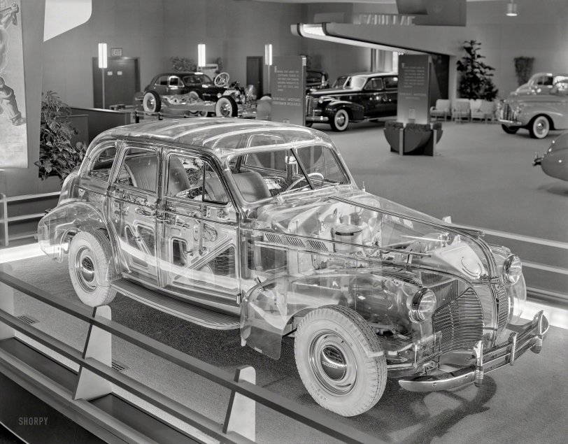 The Plexiglas Pontiac: 1940