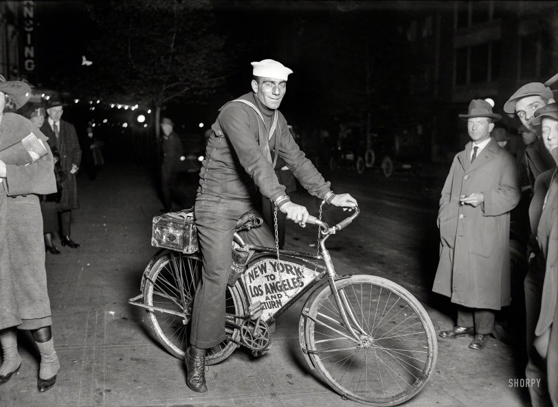 Bike Chained: 1920